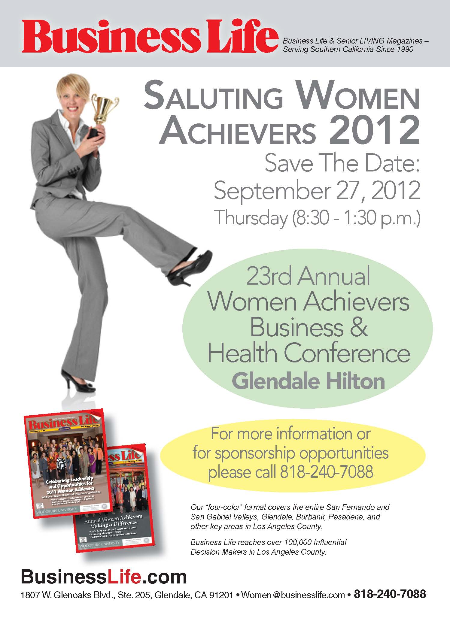 Saluting Women Achievers 2012!