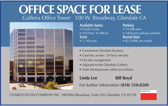 BusinessLife.com - Charles Dunn Office Space for Lease